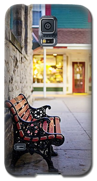 Small Town Bench Galaxy S5 Case