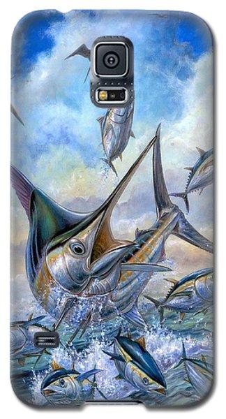 Small Tuna And Blue Marlin Jumping Galaxy S5 Case