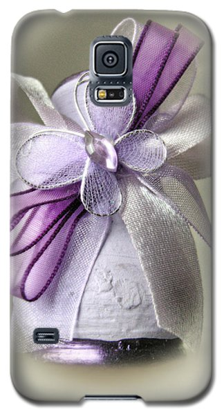 Small Vase With Butterfly And Violet Ribbons Galaxy S5 Case