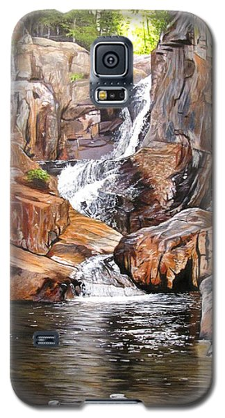 Smalls Falls Maine Galaxy S5 Case by Kevin F Heuman