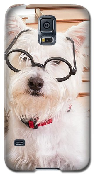 Smart Doggie Galaxy S5 Case by Edward Fielding