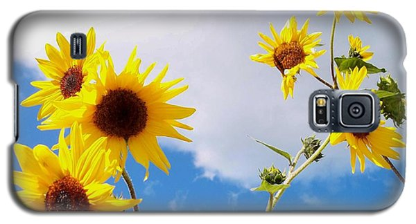 Galaxy S5 Case featuring the photograph Smile Down On Me by Mary Wolf