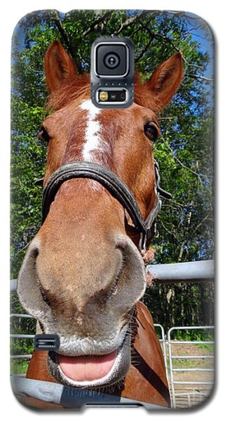 Galaxy S5 Case featuring the photograph Smile by Ed Weidman
