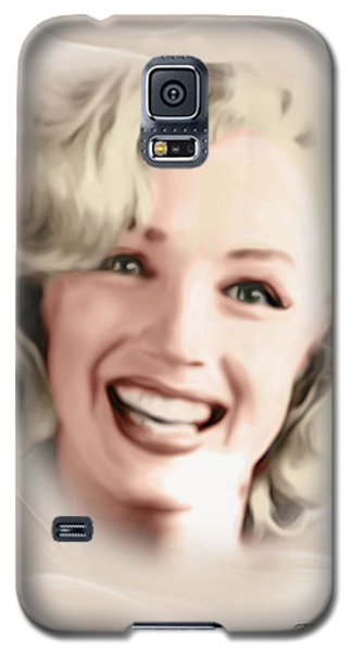 Smile Of A Goddess Galaxy S5 Case