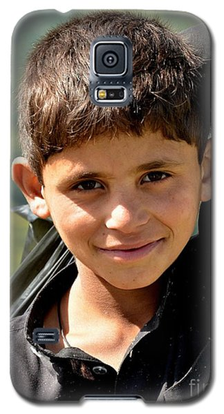 Smiling Boy In The Swat Valley - Pakistan Galaxy S5 Case