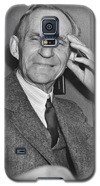 Smiling Henry Ford Galaxy S5 Case by Underwood Archives