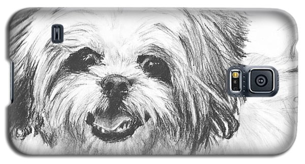 Smiling Shih Tzu Galaxy S5 Case