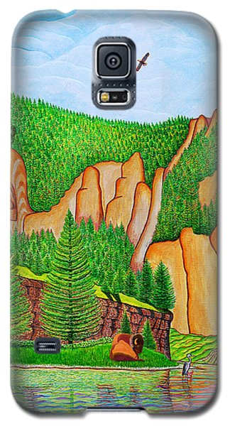 Smith River Montana Galaxy S5 Case