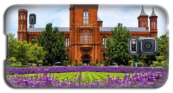 Smithsonian Castle Galaxy S5 Case by Mitch Cat