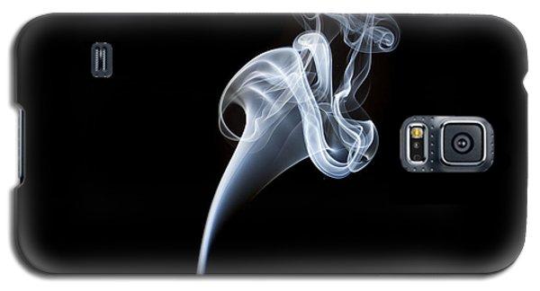 Smoke Flower Galaxy S5 Case