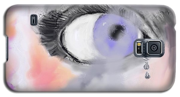 Smoke In Her Eyes Galaxy S5 Case