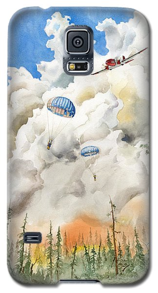 Smoke Jumpers Galaxy S5 Case