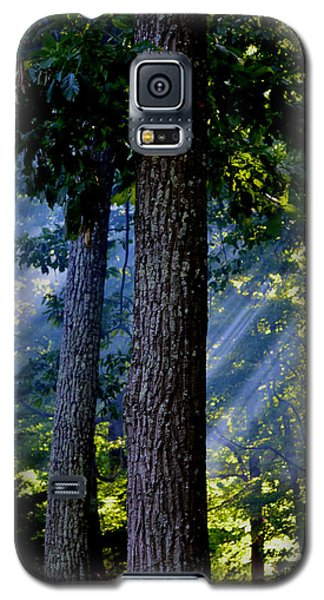 Smoke Through The Trees Galaxy S5 Case by Carlee Ojeda