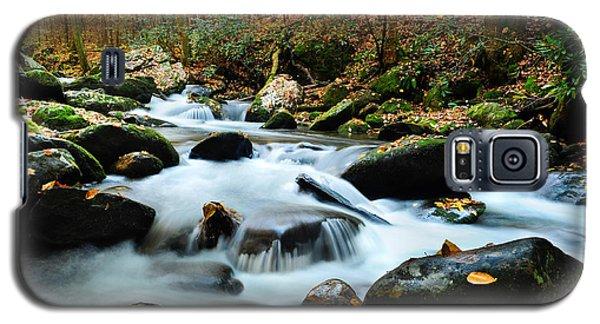 Smokey Mountain Creek Galaxy S5 Case by Donald Fink