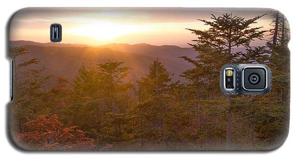 Smokies Sunset Galaxy S5 Case
