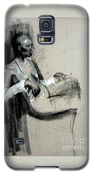 Smoking Galaxy S5 Case