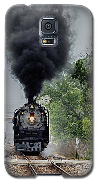 Smoking Locomotive Galaxy S5 Case