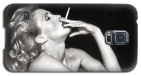 Smoking Nude  Galaxy S5 Case