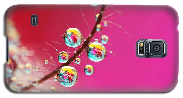 Smoking Pink Drops Galaxy S5 Case