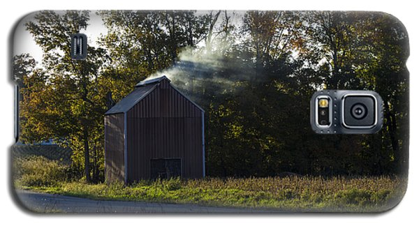 Galaxy S5 Case featuring the photograph Smoking Tobacco by Amber Kresge