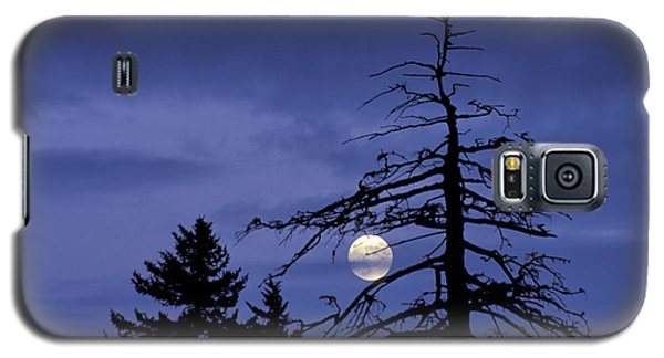 Smoky Moon Galaxy S5 Case