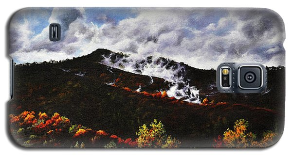 Smoky Mountain Angel Hair Galaxy S5 Case
