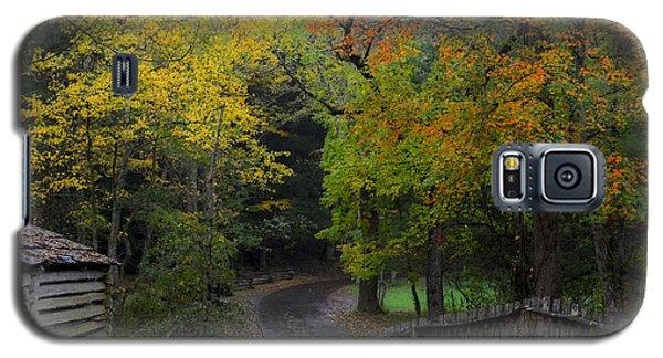 Smoky Mountain Autumn Around The Tipton Place Galaxy S5 Case