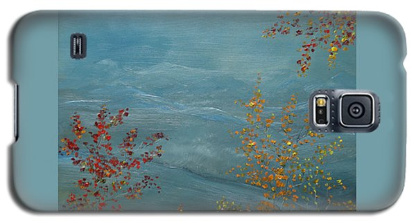Smoky Mountains In Autumn Galaxy S5 Case by Judith Rhue