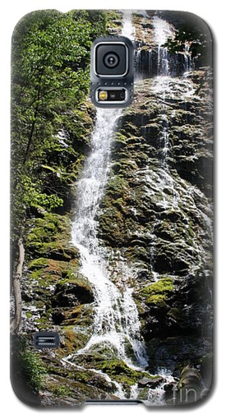 Smoky Mountains Waterfall Galaxy S5 Case by Jerry Bunger