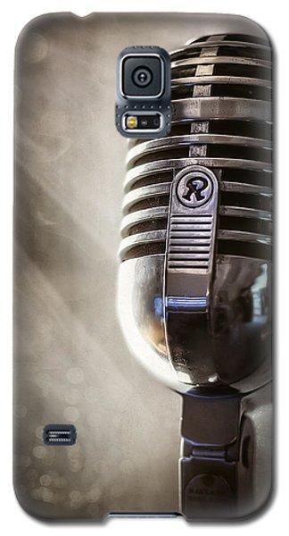 Smoky Vintage Microphone Galaxy S5 Case