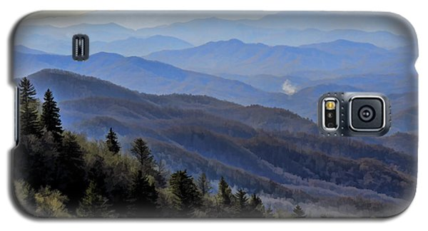 Galaxy S5 Case featuring the photograph Smoky Vista by Kenny Francis