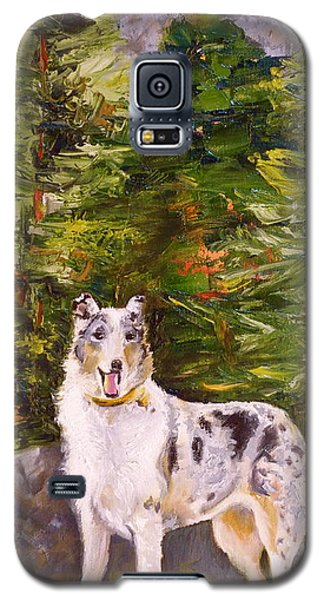 Smooth Collie Hiker Galaxy S5 Case