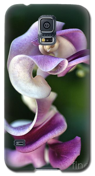 Galaxy S5 Case featuring the photograph Snail Flower by Joy Watson