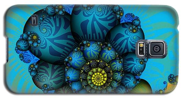 Snail Mail-fractal Art Galaxy S5 Case