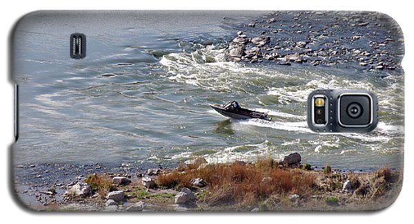 406p Snake River Boating Galaxy S5 Case