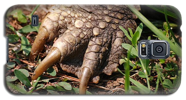 Galaxy S5 Case featuring the photograph Snapping Turtle Foot by Mark McReynolds