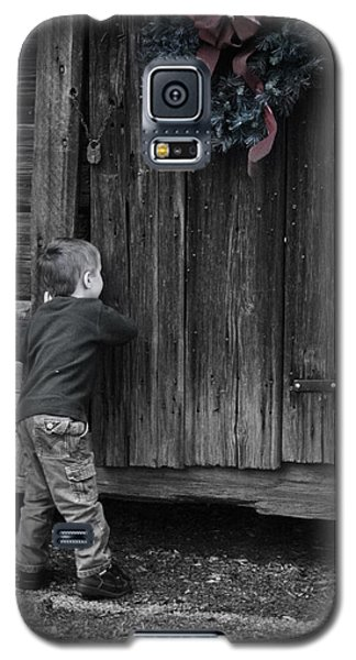Sneaking A Peek Galaxy S5 Case