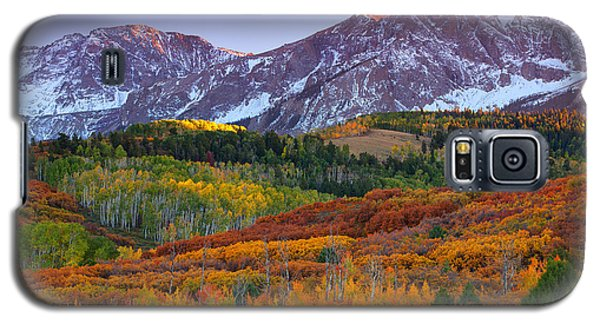 Sneffels Sunrise Galaxy S5 Case