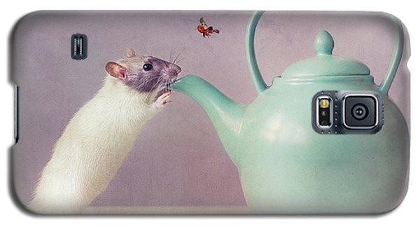 Ladybug Galaxy S5 Case - Snoozy  :) by Ellen Van Deelen