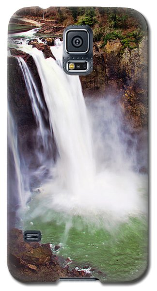 Snoqualmie Falls Galaxy S5 Case by Jerry Cahill