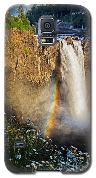 Snoqualmie Falls  Galaxy S5 Case by Sonya Lang