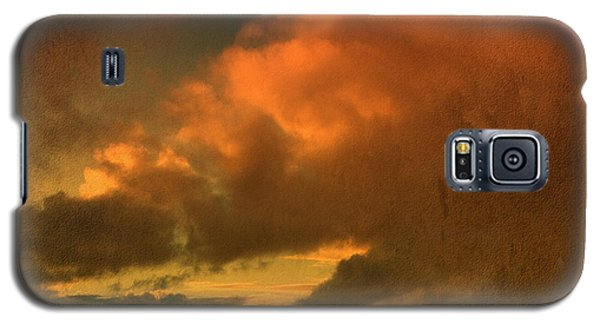 Galaxy S5 Case featuring the photograph Snow And Fire by Liz  Alderdice
