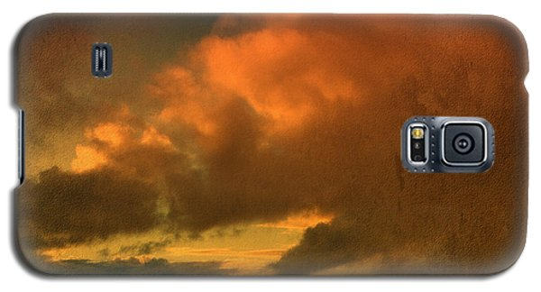 Snow And Fire Galaxy S5 Case by Liz  Alderdice