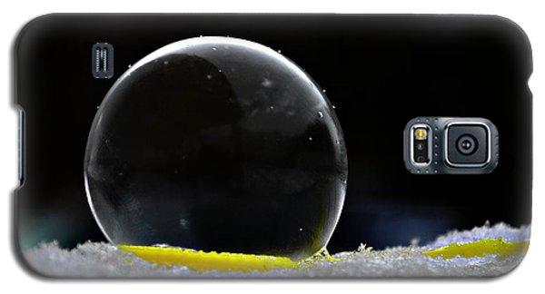 Snow Bubble Frozen Fetus Galaxy S5 Case by Lila Fisher-Wenzel