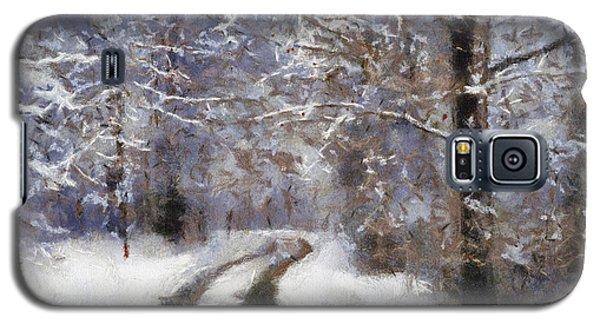 Snow Came Galaxy S5 Case
