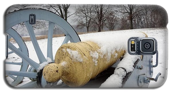 Galaxy S5 Case featuring the photograph Snow Cannon by Michael Porchik