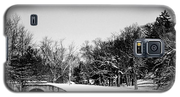 Snow Covered Bridge Galaxy S5 Case