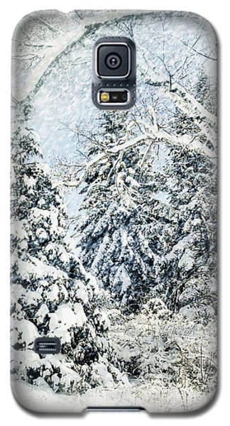 Snow Covered  Galaxy S5 Case by Elaine Manley