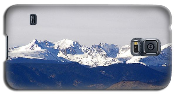 Snow Covered Indian Peaks Galaxy S5 Case