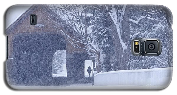 Snow Day Galaxy S5 Case by Alan L Graham
